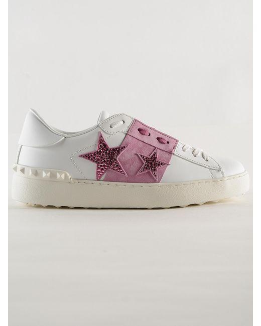 a61fff47f86 Valentino - Multicolor Sneaker Open - Lyst ...
