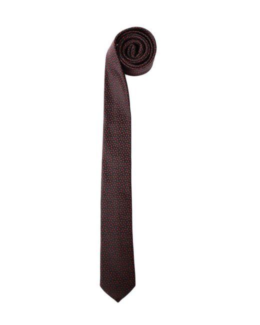 Saint Laurent   Black Tie Monogram for Men   Lyst