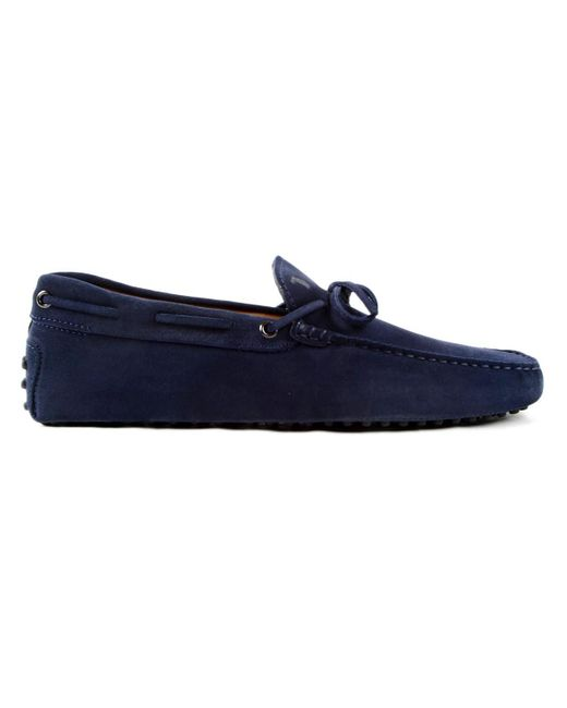 Tod's | Blue New Laccetto Occh. New Gommini 122 for Men | Lyst