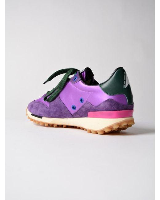 Starland sneakers - Pink & Purple Golden Goose 1HPaRMK