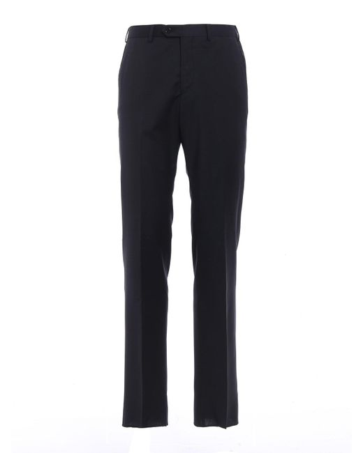Armani | Blue Trousers for Men | Lyst
