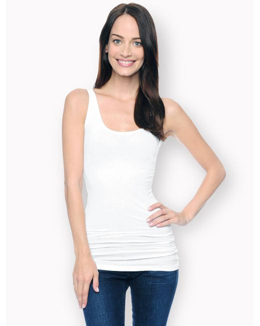 Splendid | White First Layer Tank Top | Lyst