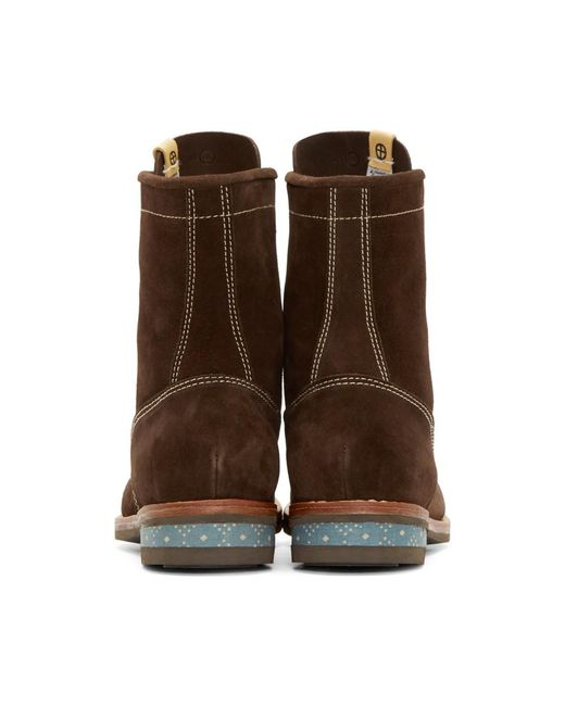 Visvim Tan Suede Kelly Boots s83vrXeu