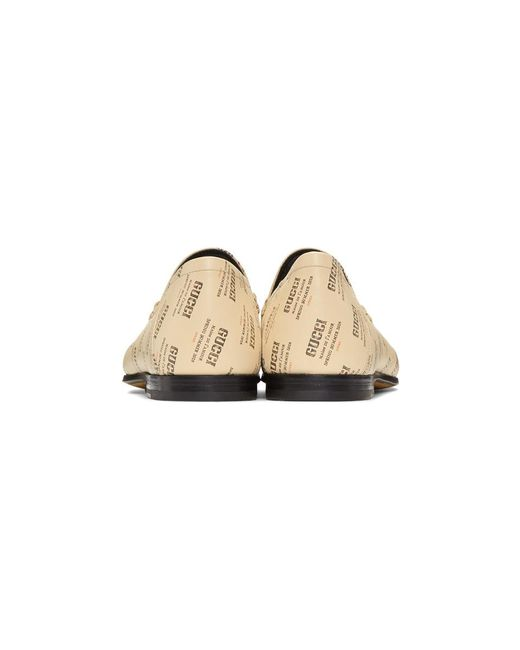 Valentino Off-White All Over Logo Stamp Brixton Loafers yLPUXIkdP