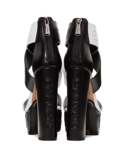 Balmain & Cloud Crossover Heels