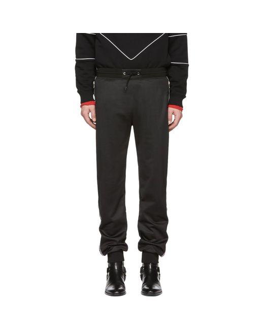 Givenchy - Black ブラック 4g バンド ラウンジ パンツ for Men - Lyst