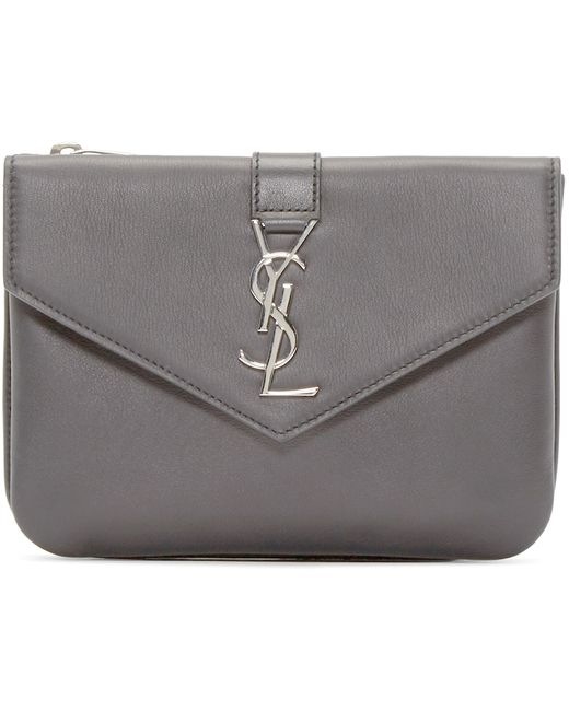 ysl mens duffle bag - yves saint laurent off-white monogram tri-pocket bag, vogue ...