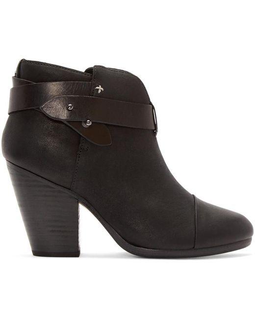 Rag & Bone   Black 'harrow' Leather Boot   Lyst