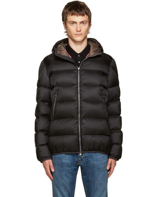 Moncler | Black Down Chauvon Jacket for Men | Lyst