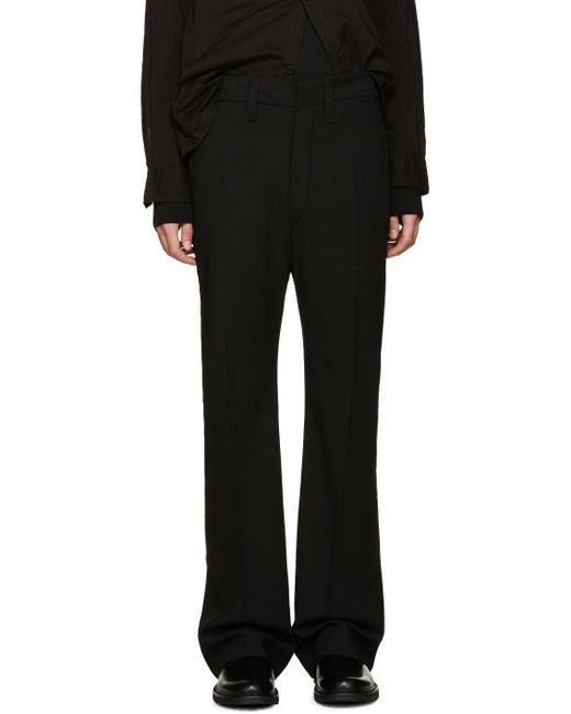 Ann Demeulemeester | Black Casual Pants for Men | Lyst