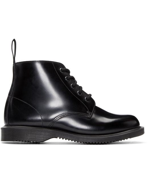 Dr. Martens | Black Emmeline Leather Ankle Boots | Lyst