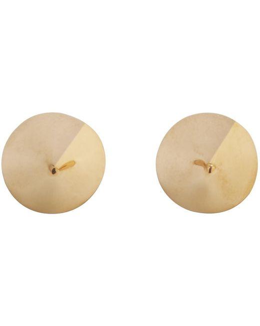 Lauren Klassen | Metallic Gold Spike Earrings | Lyst