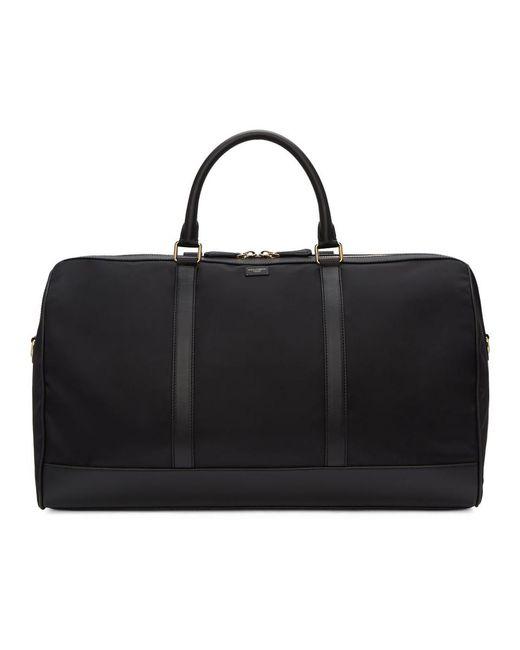 Dolce & Gabbana - Black Nylon Duffle Bag for Men - Lyst