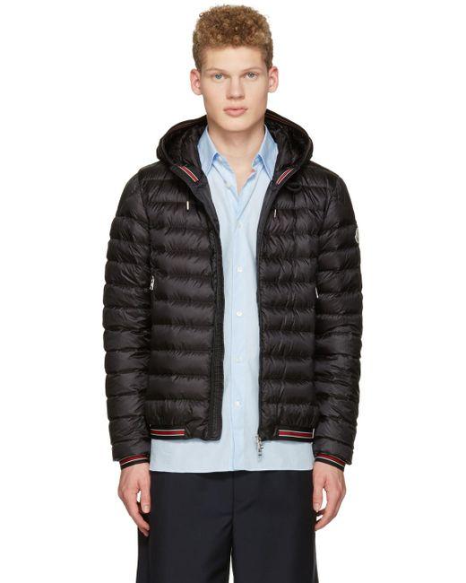 Moncler   Black Down Eliot Jacket for Men   Lyst