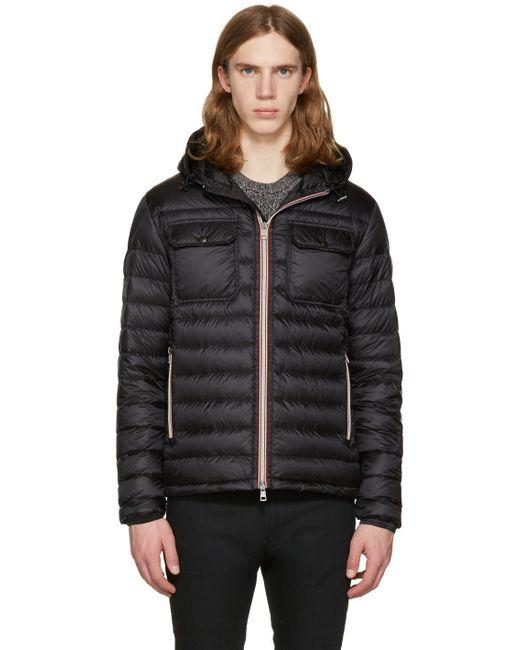 Moncler | Black Down Douret Jacket for Men | Lyst