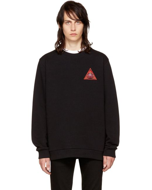 Givenchy | Black 'real Eyes' Sweatshirt for Men | Lyst