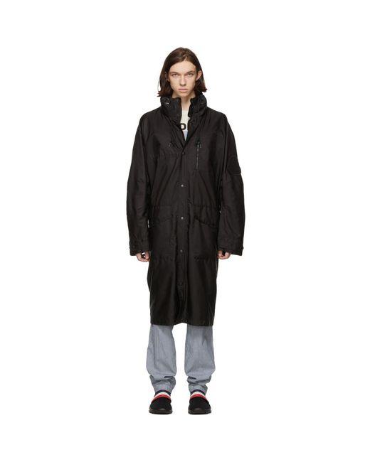 Moncler - Black Greg Coat for Men - Lyst