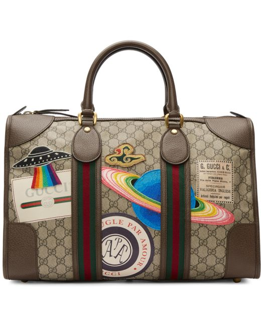 Gucci | Brown Gg Supreme Courrier Tote | Lyst