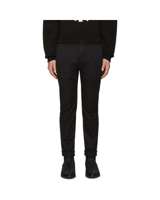 DSquared² - Black Twiggy Boy Trousers for Men - Lyst