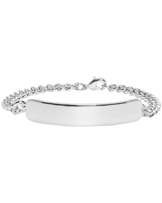 A.P.C. | Metallic Silver Darwin Bracelet for Men | Lyst