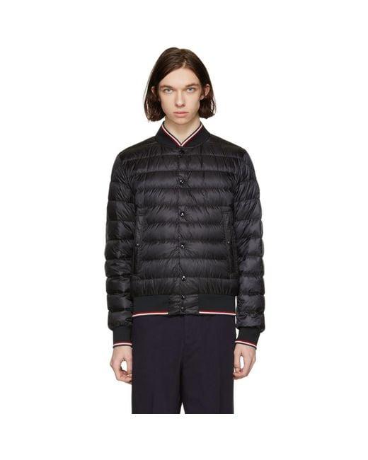 Moncler - Black Down Aubry Jacket for Men - Lyst