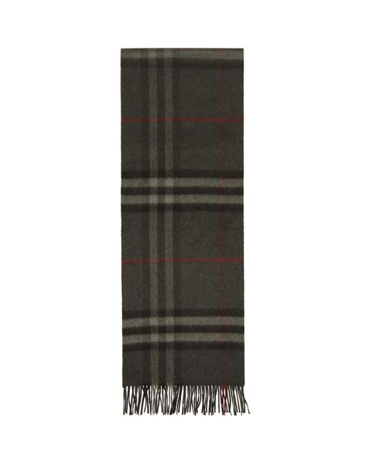 Burberry - Multicolor Foulard a carreaux gris The Classic Cashmere for Men - Lyst