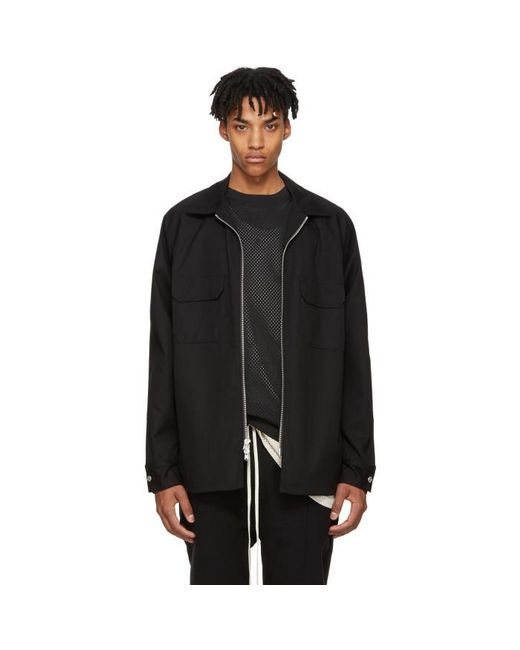 Fear Of God | Black Chino Work Shirt for Men | Lyst
