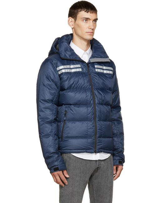 Canada goose Blue Down Summit Jacket in Blue for Men | Lyst