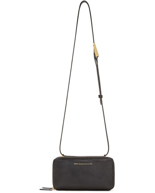 Want Les Essentiels De La Vie | Black Demiranda Shoulder Bag | Lyst