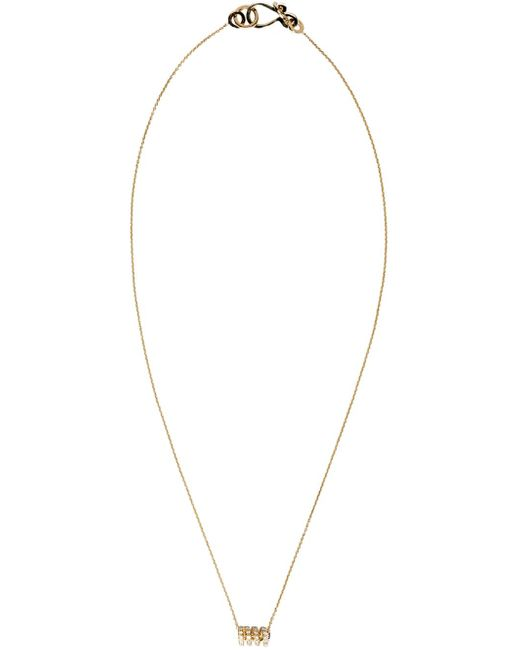 Sophie Bille Brahe | Metallic Gold Ressort Chain Necklace | Lyst