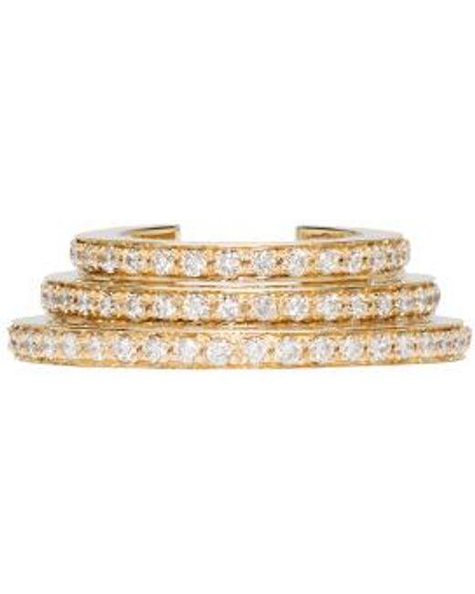 Sophie Bille Brahe | Metallic Gold Spirale Oreille Cuff | Lyst