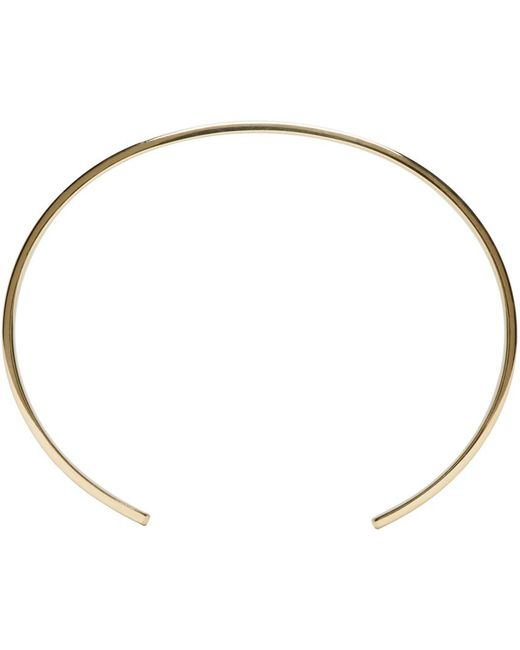 Le Gramme | Metallic Gold Le 21 Grammes Cuff | Lyst