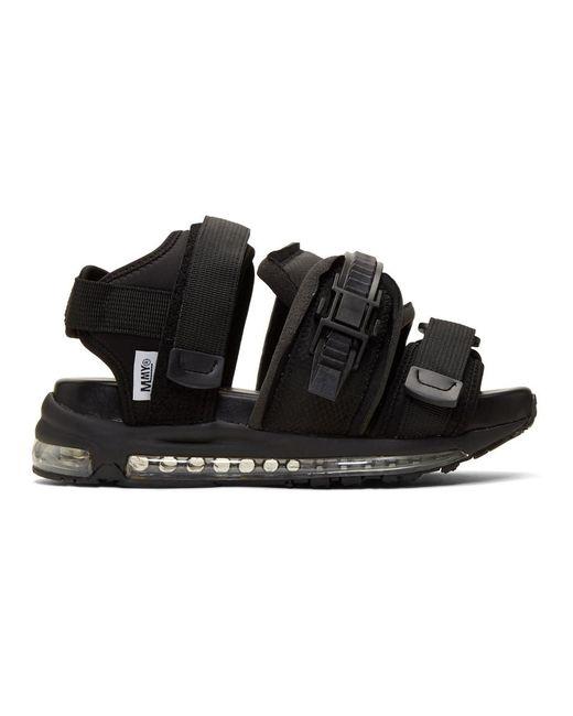 cfd60c3f55fe Lyst - Miharayasuhiro Black Skiing Sandals in Black for Men