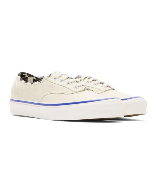 2fd6753c02 ... Vans - White Ua Og Authentic Lx Inside Out Checkerboard for Men - Lyst  ...
