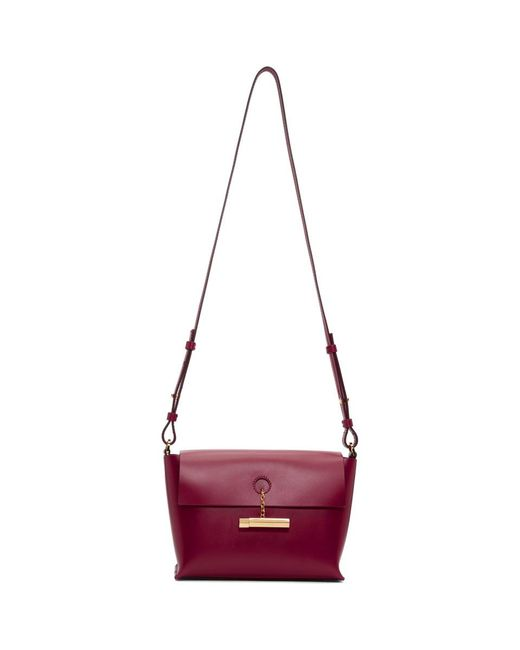 Sophie Hulme - Red The Pinch Crossbody Bag - Lyst