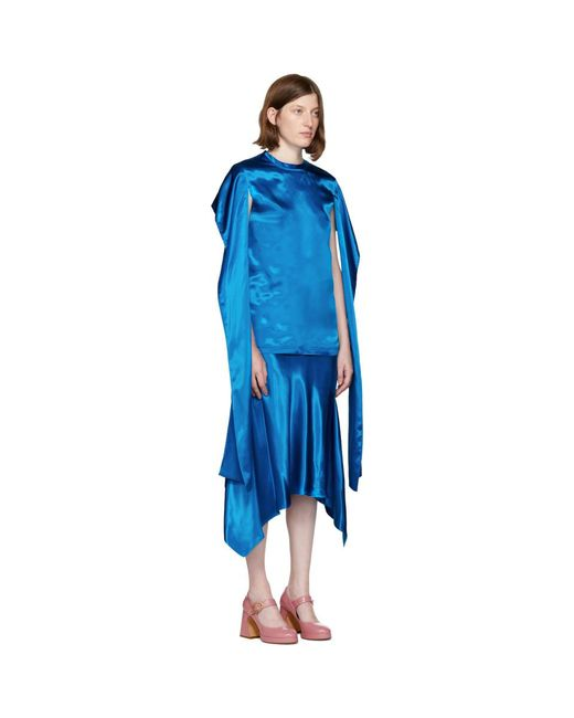 Blue Nikki Blouse Sies Marjan Outlet Hot Sale bEWtopHflr