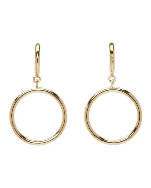 Isabel Marant - Metallic Gold Nirvana Earrings - Lyst