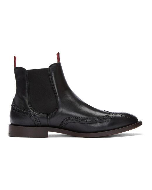 H by Hudson - Black Breslin Chelsea Boots for Men - Lyst