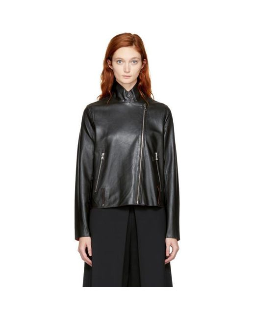 Won Hundred | Black Netty Biker Jacket | Lyst