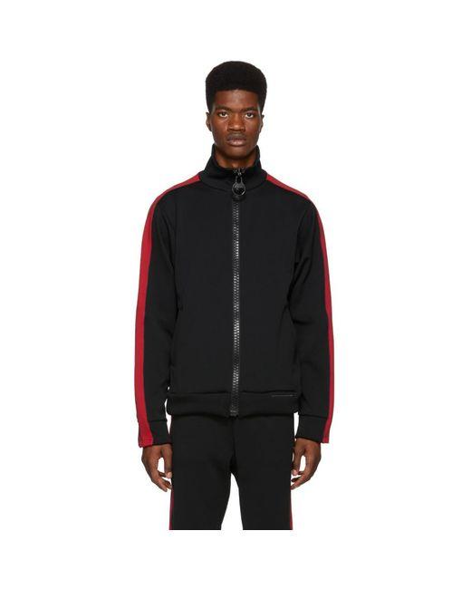 Miharayasuhiro - Black Enlarged Track Jacket for Men - Lyst