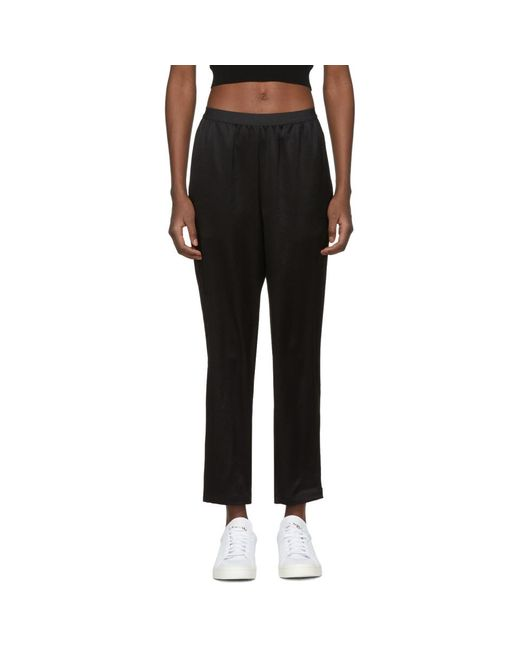 T By Alexander Wang - Black Wash And Go Trousers - Lyst