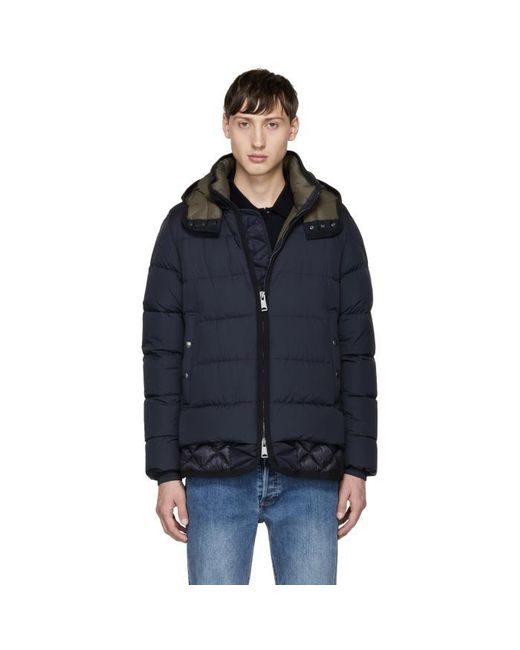 Moncler | Blue Navy Down Tanguy Jacket for Men | Lyst