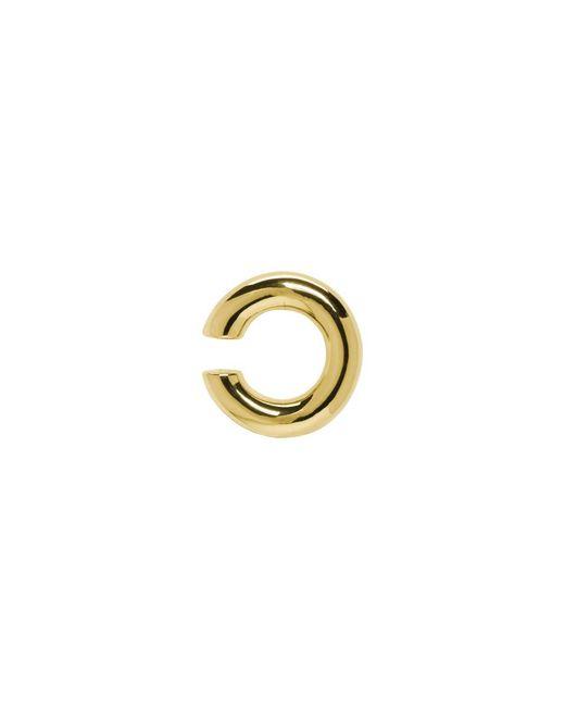 Saskia Diez - Metallic Gold Bold Ear Cuff - Lyst