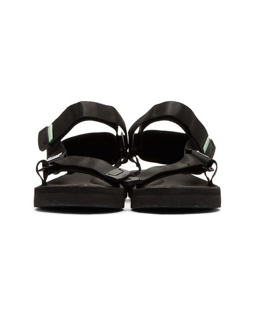 4ae4319d2d3 Lyst - Suicoke Black Depa-cab Sandals in Black - Save 36%