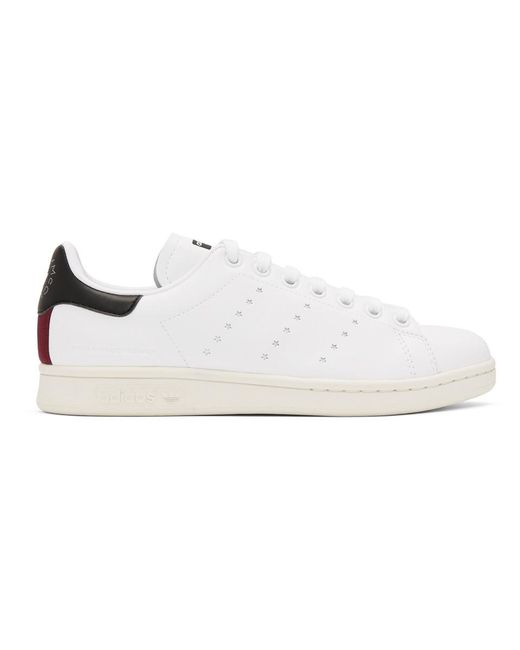 Stella McCartney - White Stan Smith Collab Sneakers for Men - Lyst