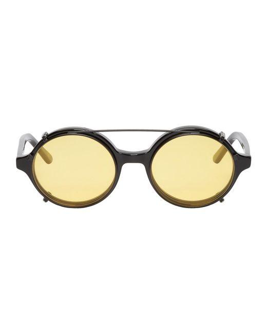f93c1016ce1d Lyst - Han Kjobenhavn Black Doc Clip-on Sunglasses in Black for Men