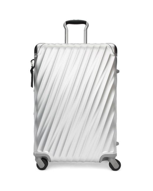 Tumi - Metallic Silver Aluminum Short Trip Packing Suitcase for Men - Lyst
