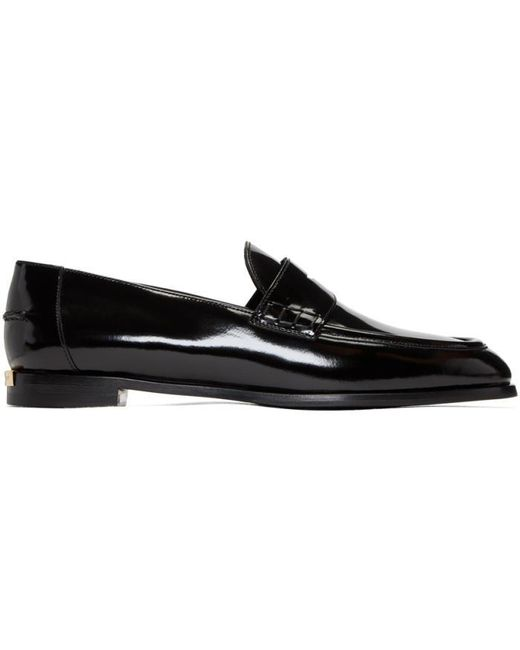 Burberry | Black Oban Loafers | Lyst