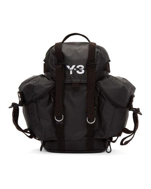 Y-3 - Black Y3 Xs Utility Bag - Lyst