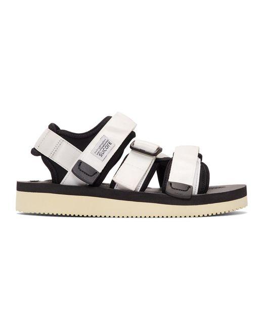 8760117d76c3 Suicoke White Kisee-v Sandals in White for Men - Lyst